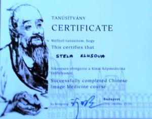 certifikát image medicine